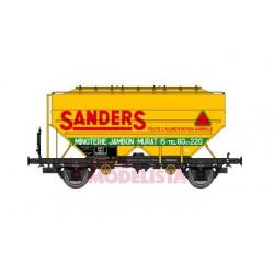 """Vagones cerealeros Richard """"Sanders."""", SNCF."""