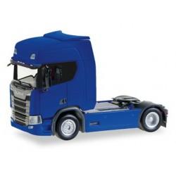 Scania CR20 HD, azul.