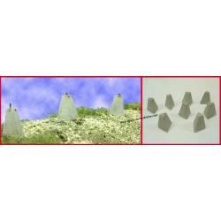 Pyramid three faces. PN SUD MODELISME 7239