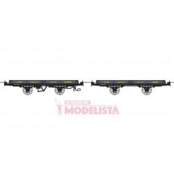 Set de vagones de bajos, Hv 6592 + 6181.
