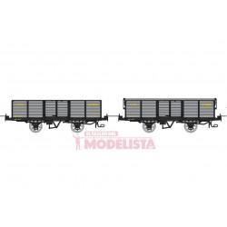 Set open wagons, Gv 5636 + 5686.