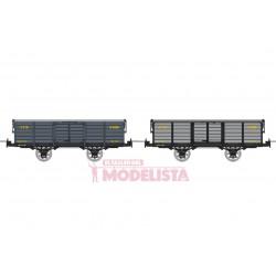 Set open wagons, Gv 5199 + G 239.