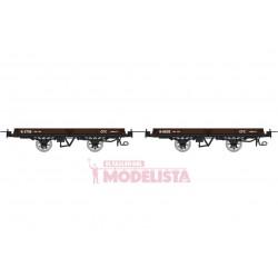 Set de vagones de bajos, Hv 5736 + 6602.