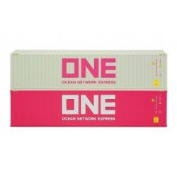 """Container-Set 2x40 ft. """"ONE/ONE""""."""