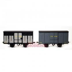 Set de vagones cubiertos, Kv 4631 + 4088.
