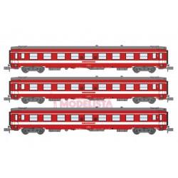 Le Capitole: 3-coaches set, SNCF.