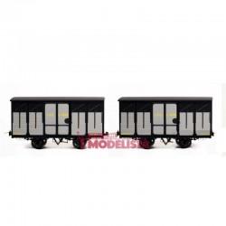 Set de vagones cubiertos, Kv 4096 + 4100.