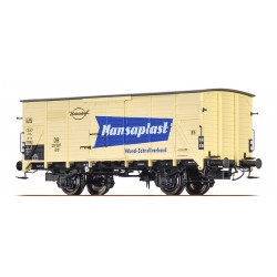 Covered freight car type GKLM 200.