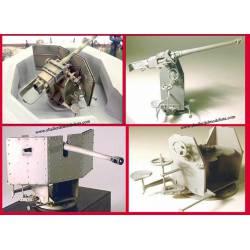 Cañón de 50 mm KWK 42/L60. PN SUD MODELISME 3503