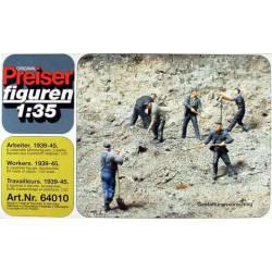 Workers. PREISER 64010