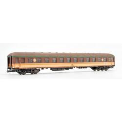 Coche de segunda clase, BB 8532. RENFE. Envejecido