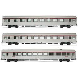 "Set de coches ""TEE L'Arbelete"". SNCF."