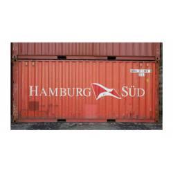 Contenedor 20' DV ''Hamburg SÜD''.