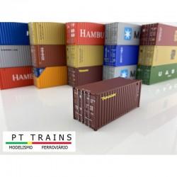 Container 20'DV ''TOUAX''.