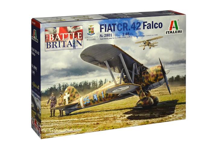 Maqueta avi/ón Fiat CR.42 Falco