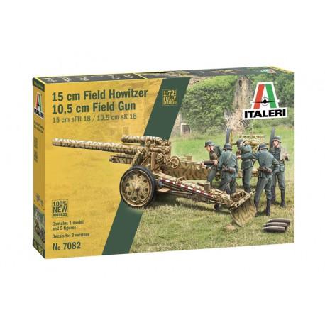 15 cm Field Howitzer/10,5 cm field gun.