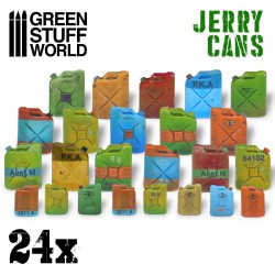 Jerry cans (x24).