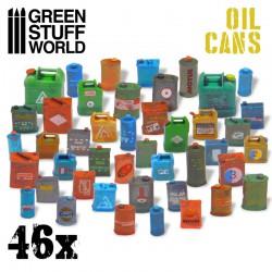 Bidones de gasolina en resina (x24).