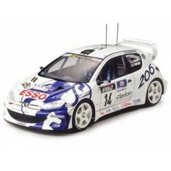 Peugeot 206 WRC 1999. TAMIYA 24221