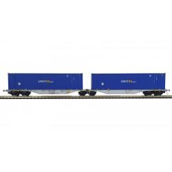 """Container car """"UNIT""""."""