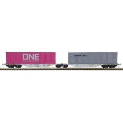"""Container car """"ONE/MAERSK""""."""