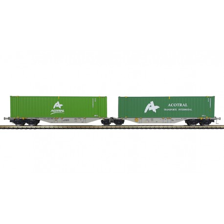 """Container car """"ACOTRAL""""."""