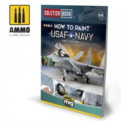 How to paint USAF Navy Grey Fighters.