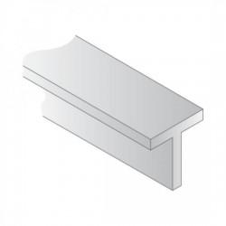 "Polystyrene ""T"" shape, 5,0 mm."