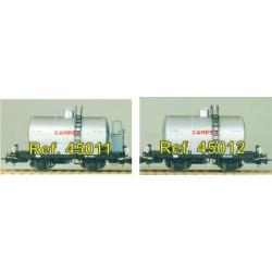"""Two axle tank waggon """"CAMPSA"""". IBERTREN 45011"""