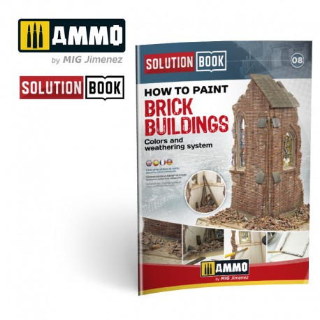 How to paint brick buildings.