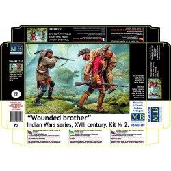 Wounded brother.