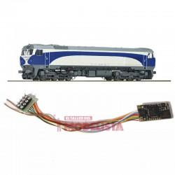 Sound decoder for RENFE 319.3, 21 pins. D&H