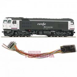 Sound decoder for RENFE 319.2, 21 pins. D&H