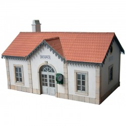 Estación de Bouro. Línea Oeste.