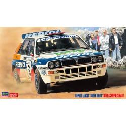 Repsol Lancia Super Delta 1993 Acropolis Rally.