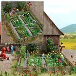 Rural farm garden.