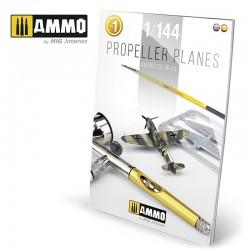 Aviones de hélice 1/144. Vol. 1.