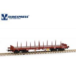 Vagón plataforma CP Sgs.