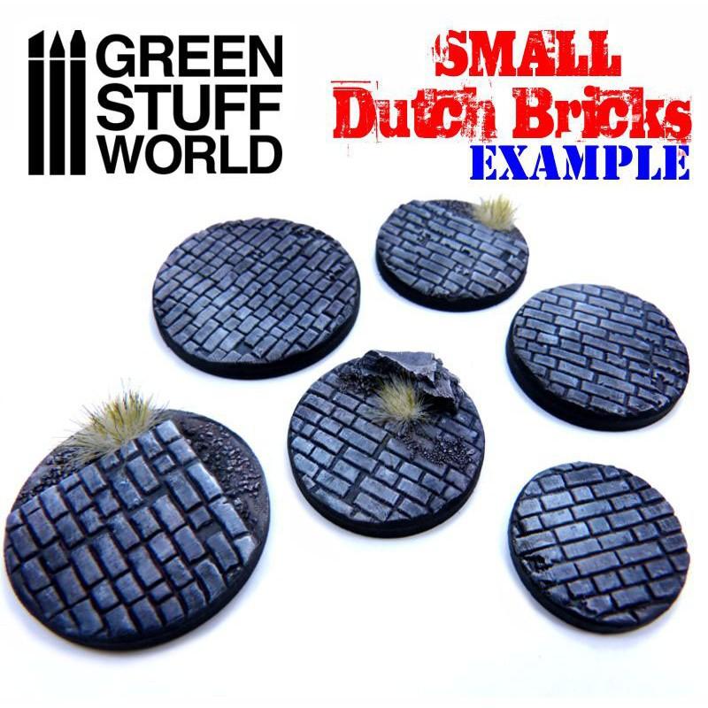 Green Stuff World Rolling Pin Small Cobblestone New