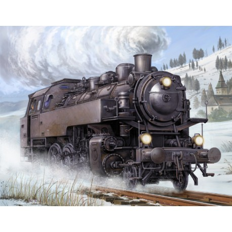 Locomotora BR86. TRUMPETER 00217