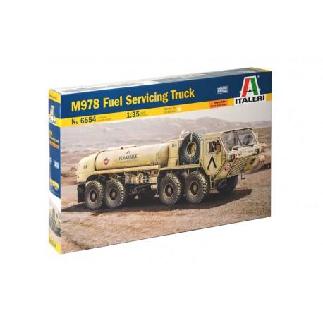 M978 fuel servicing truck.