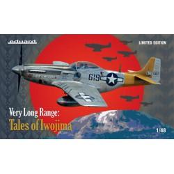 Very long range: Tales of Iwojima P-51D.