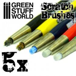 Scratch Brush Pens.