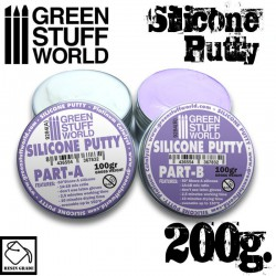 Violet Silicone Putty 200gr.