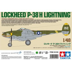 Lockheed P-38 H Lightining.