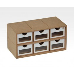 Drawers Module (x6). Square format.