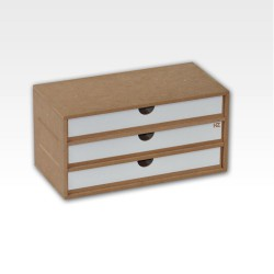 Drawers Module (x3). Tray format.