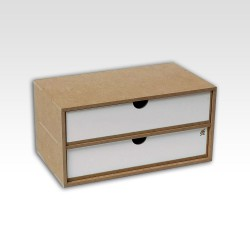 Drawers Module (x2). Tray format.