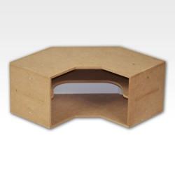 Corner Shelves Module.