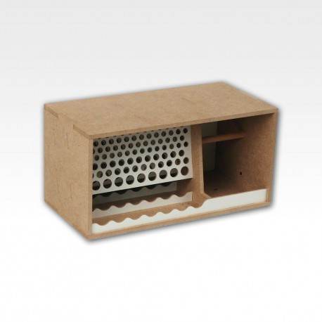 Brushes and tools module. Box format.